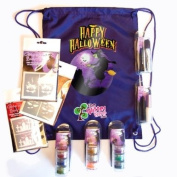 Large Spooky Witches Glitter Tattoo Kit - 72 Stencil Pack