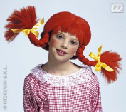 Girls Naughty Girl Child withBendable Plaits Wig for Hair Accessory Fancy Dress