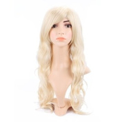 HDE® Long Wavy Blonde Hairstyle Wig