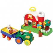 Old MacDonald Farmhouse & Tractor Set
