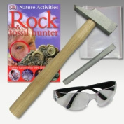Junior Fossil Hunting Kit - Everything you need to start looking for fossils