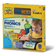 Hot Dots Jolly Phonics - Let's Learn Phonics Complete Set