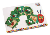 Rainbow Designs Eric Carle Very Hungry Caterpillar Peg Puzzle