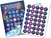 Space Reward Chart with Stickers