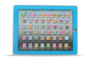 Y-Pad Touch Screen Pad Childrens Learning Tablet Computer Laptop For TODDLER CHILD Kids Toy Blue