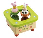 Tidlo Moo and Oink Music Box