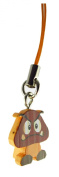 Super Mario 3D Land Icon Danglers Approx.190cm Keychain Fig- Goomba