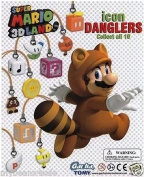 Super Mario 3D Land Icon Danglers Approx.190cm Keychain Fig- Exclamation Block