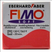 Fimo Effect Modelling Clay, Metallic Pearl Red, 57 g