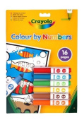 . Colour By Number Mini Markers