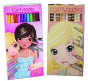 Bundle Buy TopModel - Top Model Skin & Hair 12 Pencil Set & Top Model Coloured 12 Pencil Set