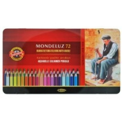 Koh-i-noor 72 Mondeluz Aquarelle Coloured Pencils. 3727