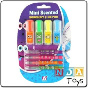 Mini Scented Highlighters and Gel Pens