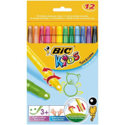 BiC Kids Turn and Colour Twistable Wax Crayons