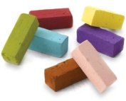 Soft Pastels - 12 full length assorted colours 65X10mm