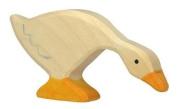 Holztiger Feeding Goose Wooden Figure