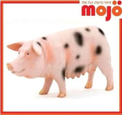 MOJO SPOT PIG SOW HAND PAINTED REPLICA FARM ANIMAL COLLECTABLE TOY FIGURE 387092