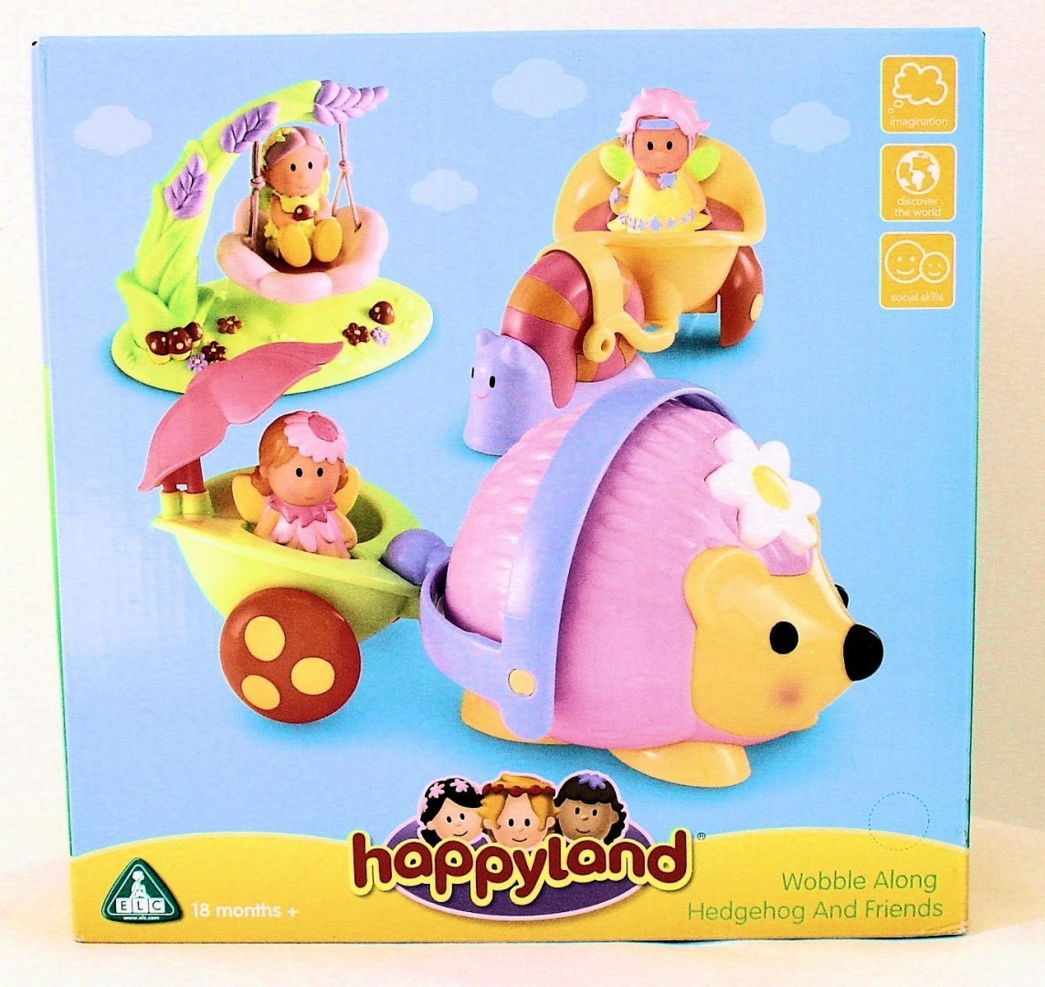 Early Learning Centre Happyland Wobble Along Hedgehog and Friends ...
