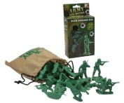Army Soldiers With Store Bag ~ 32 Pieces