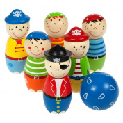 Bigjigs Toys BJ853 Pirate Skittles (Height