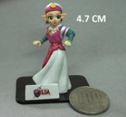 Legend of Zelda PRINCESS MINI FIGURE (4.7 CM Mini Figure)OCARINA OF TIME WALK THROUGH