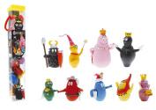 Plastoy - Barbapapa tubo 9 figurines Barbapapa médiéval