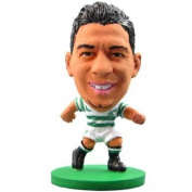 Official Celtic FC Izaguirre SoccerStarz Toy - A great gift / present for boys, sons, friends, for Christmas, Birthdays, Valentines Day or just as a treat for and avid football fan