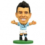 Official Manchester City FC Aguero SoccerStarz Toy - A great gift / present for boys, sons, friends, for Christmas, Birthdays, Valentines Day or just as a treat for and avid football fan