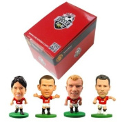 Soccerstarz Manchester United Blister Includes Wayne Rooney/ Ryan Giggs/ Paul Scholes and Ashley Young