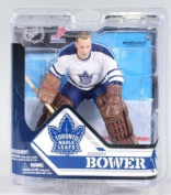 McFarlane NHL Series 32 Figure Johnny Bower Toronto Maple Leafs