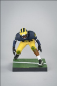 Mcfarlane Toys Ncaa College Football Sports Picks Series 3 Action Figure Charles Woodson (Michigan Wolverines) Blue Jersey