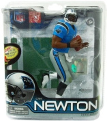 Mcfarlane Toys Nfl Sports Picks Series 28 Action Figure Cam Newton (Carolina Panthers) Blue Jersey Bronze Collector Level Chase