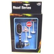 Road Series - Traffic Lights w/ 3 Traffic Signs