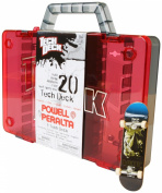 Tech Deck Storage Case for 20 Skate Boards (includes One Skateboard) - Colours Vary
