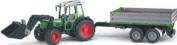 Bruder 1999 Fendt - Tractor with trailer