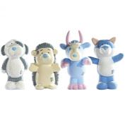 My Blue Nose Friends Konker, Koodoo, Fluffy and Baffle