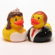 Rubber Duck Wedding Bride & Groom Set