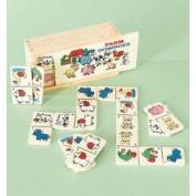 Children's Toy Farm Dominoes