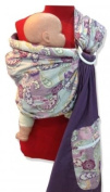 Palm and Pond Ring Sling - Purple Paisley