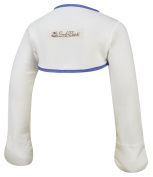 ScratchSleeves   Stay-on Scratch Mitts for Itchy Toddlers & Pre-School Children   Cream/Blue   Sizes from 21 months to 5 years