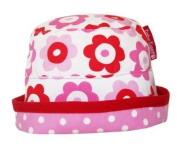 Toby Tiger Unisex Baby Reversible Tie Sunhat Pop Flower