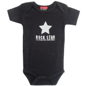 Rock Star Baby bodysuit - black Size 50/56 Newborn