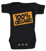 Baby Buddha - 100% Organic Design Baby Babygrow 100% Cotton Sizes 0M Upto 12M in 5 Colours