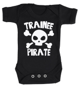 Baby Buddha - Trainee Pirate Baby Babygrow 100% Cotton Sizes 0M Upto 12M in 5 Colours