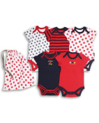 The Essential One - Unisex Pack of 5 Baby Bodysuits / Vests ESS37
