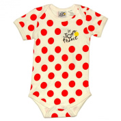 Le Tour de France - Official Tour de France Baby Bodysuit - Colour : Red dots