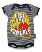 Here Comes Trouble Babygrow