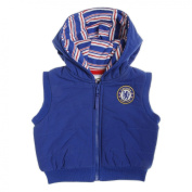 Chelsea Football Club Hooded Gilet with Club Badge