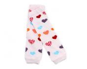 Warmer Cartoon Baby Girl Boy Newborn Toddler Knee Bootie High long Socks Cotton Leggings Leg Pattern Pink Heart K8