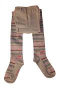 Weri Spezials Baby and Children Tights Strips Grey